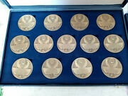 Collection Of 25 Portuguese Medals In Their Original Very Strange