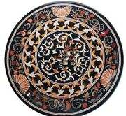 36 Marble Dining Table Top Inlay Rare Semi Round Center Coffee Table Ar1078