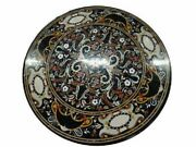 36 Marble Dining Table Top Inlay Rare Semi Round Center Coffee Table Ar1080