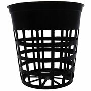 100 Pack - 3 Inch Net Slit Pots For Hydroponic Aeroponic Orchid Garden Andamp