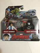Marvel Minimates Bruce Banner And War Machine Tru Avengers Age Of Ultron -new.
