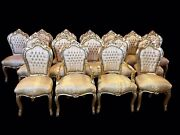 Amazing Sets 6 81012141618 Plus Gold Royal Palace Style Dining Chairs