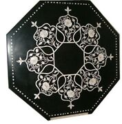 36 Marble Dining Table Top Inlay Rare Semi Antique Center Coffee Table Ar1187