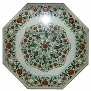 36 Marble Dining Table Top Inlay Rare Semi Antique Center Coffee Table Ar1200