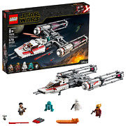 Lego Star Wars The Rise Of Skywalker Resistance Y-wing Starfighter 75249 Buildi