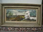 Beautiful Original Oil Painting By Maurice Verrier A/k/a Charles Levier