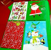 Tall Jumbo Christmas Gift Bags Set Of 108 Great For Large Gifts 18 By 13 By 5 In