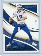 2020 Panini Immaculate 39 Josh Allen 17/60 Jersey Number