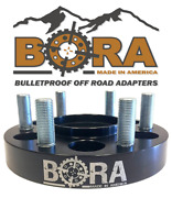 Bora 6 Wheel Spacers For John Deere 3025d Front Axle Only - Usa Made