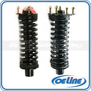 2x Quick Complete Front Struts Coil Spring Assembly For 02-12 Jeep Liberty
