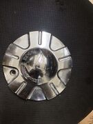 C-097-3 Forte Crome Wheel Center Cap S1050-f15