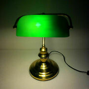 Bankers Lamp Antiques Brass Table Lamp Maritime Ship Vintage Marine