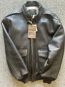 Schott A2 Sm Bomber Jacket L New With Tags