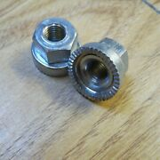 Track Nuts Front Cyclo Vintage Gripfast Racing Superb 1 Pair 5/16and039and039