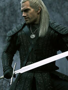 Geralt Witcher Netflix Series Customade Silver Sword Limited Edition Project