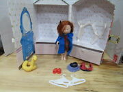 Madeline Doll Case With Doll Bathing Suit Hangars Sandals Dress Ducky Nun