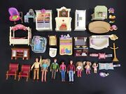 Fisher Price Loving Family Dollhouse Furniture Accessories People Lot 35 Pieces