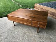 Mid Century Modern Drexel Declaration Coffee Table Professionally Refinished