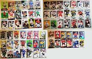 Lot Of Over 70 Nhl Hockey Rookie And Short Printed Cards Great Value