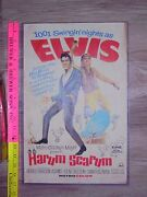 Poster Great Collectible Sign The Elvis Movie Harum Scarum 1001 Swingin Nights