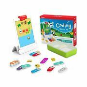 Osmo - Coding Starter Kit For Ipad - 3 Educational Learning Games - Ages 5-10...