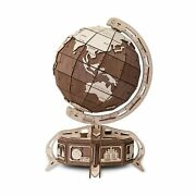 Eco Wood Art The Globe 393-piece 3d Puzzle, Color Brown The-globe-brown