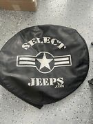 Select Jeeps Rear Tire Cover Spare Cover