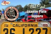 Driven A Flathead Lately License Plate Topper Hot Rod Rat Ford 59ab V8
