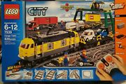 Brand New Lego City 7939 Cargo Train Set In Factory Sealed Box Retired Rare