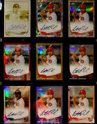 Anthony Rendon 2013 Topps Chrome - Cards And Plate / All Autographed - 1 / 1