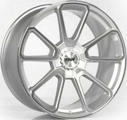 20 Tsw Sonoma Silver Polished Alloy Wheels Fits Transporter T5 T6 Load Rated