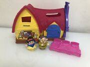 Fisher Price Little People Disney Princess Snow Whites Cottage Set With Dopey