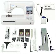 Juki Hzl-f400 Exceed Quilt Pro Computerized Sewing And Quilting Machine