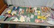 Vintage Early 1960s Barbie Doll Dolls Clothes Outfit Catalog Accessories Lot