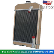 Nca8005 For Ford New Holland 501 600 601 700 701 /800 801 /901 Tractor Radiator
