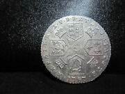 1787 Great Britain U.k. Sixpence 6 Pence Silver Coin-high Grade