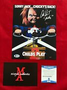 Alex Vincent Autographed Signed 8x10 Photo Childand039s Play Andy Beckett Coa