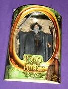 Gandalf Action Figure Toy Biz 2001 Lord Of The Rings Light Staff, Opened Card