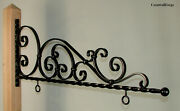 Forged Steel Sign Bracket - Hanger - Wrought Iron -  Willow Street