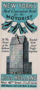 1920 Hotel Holland Tunnel W. 42nd St Bway Times Square Midtown New York City