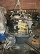 2006 Yamaha Outboard Motor F115tlr   115 Hp Four Stroke Engine 25 For Parts