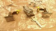 Nos 1979 Lincoln And Mark V Ignition And Door Lock Cylinders/keys D9ly-6522050a