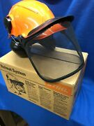 Stihl Chainsaw Safety Helmet With Hearing Protection New Oem