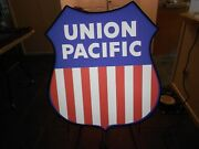 Union Pacific Railroad Lighted Sign