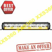 Vision X 20 Shocker Dual Action Led Light Bar White Vector And Race Amber Photon