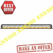 Vision X 40 Shocker Dual Action 24 Led Light Bar White Vector And Amber Photon
