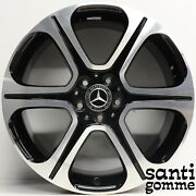 4 Rims Alloy 8 X 19 Mercedes And 213 Original A2134013400 Used