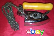 Vintage Antique Heavy Metal American Beauty 66ab Electric Clothing Iron Works