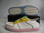 Creative Recreation Al Capone Low Athletic Shoes Mens White/yellow Size 8 New