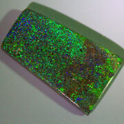 25.80 Cts_antique Opal_100 Natural Pin Fire Australian Untreated Black Opal